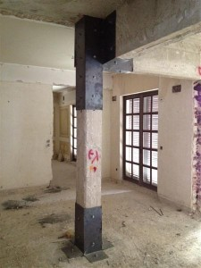 structural repairs - private house1