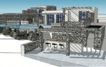 Υπό κατασκευή πολυτελούς βίλας στην Πάρο